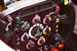 Ferrari, steering wheel, detail
