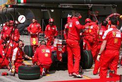 Ferrari pitstop training