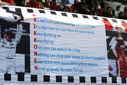 Fan poster for Kimi Raikkonen, Scuderia Ferrari