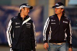 Kazuki Nakajima, Williams F1 Team, Nico Rosberg, Williams F1 Team