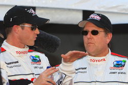 Al Unser Jr. and Johnny Benson