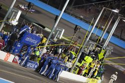 Greg Biffle's crew celebrates victory and Jack Roush's 100th career win in NASCAR?s Nationwide Series