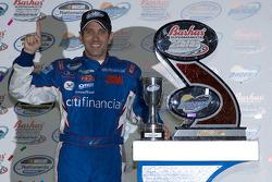 Victory lane: race winner Greg Biffle