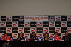 Conférence de presse post-qualifications : Scott Dixon, Target Chip Ganassi Racing, le poleman Will
