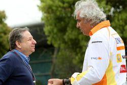 Jean Todt, Scuderia Ferrari, Ferrari, Flavio Briatore, Renault F1 Team, jefe del equipo, Director Ge