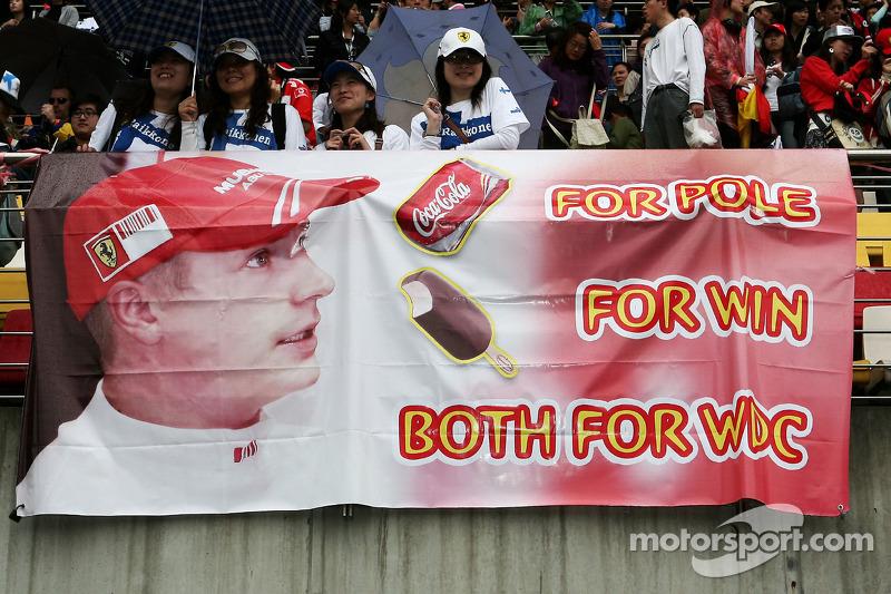 Poster de Kimi Raikkonen, Scuderia Ferrari