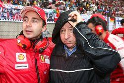 Nicolas Todt, Manager de Felipe Massa con su padre Jean Todt, Scuderia Ferrari