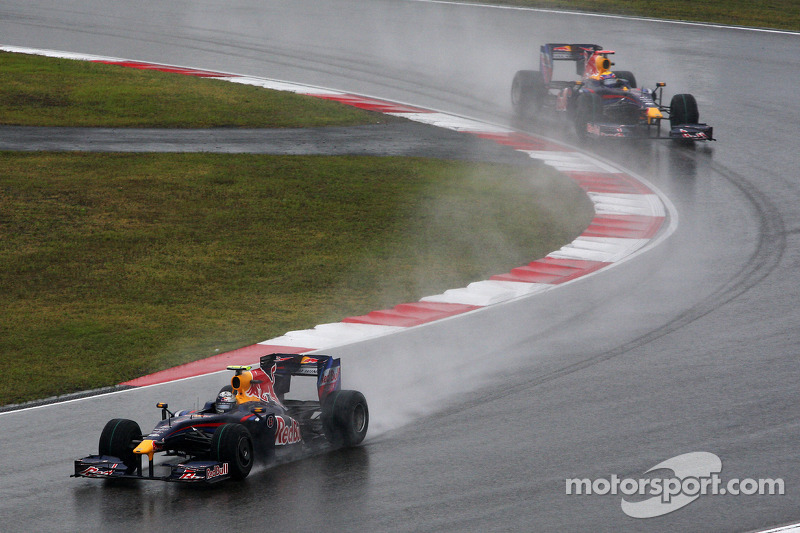 Sebastian Vettel, Red Bull Racing y Mark Webber, Red Bull Racing