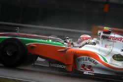 Adrian Sutil, Force India F1 Team Heikki Kovalainen, McLaren Mercedes