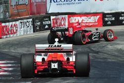 Justin Wilson, Dale Coyne Racing suivi par Ryan Briscoe, Team Penske