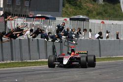 Race winner Marcos Martinez