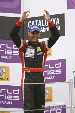 Podium: third place Chris Van Der Drift