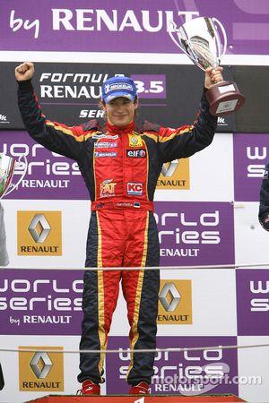 Podium: second place Sten Pentus