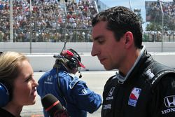 Justin WIlson, Dale Coyne Racing gives an interview with VS TV crew