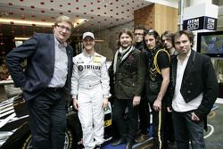 Reamonn performed at the DTM presentation, together with Ralf Schumacher