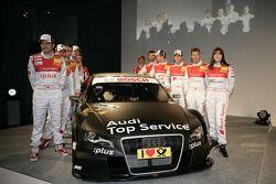The Audi squad 2009