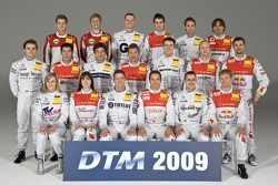 The class of 2009: DTM drivers from Audi and Mercedes-Benz