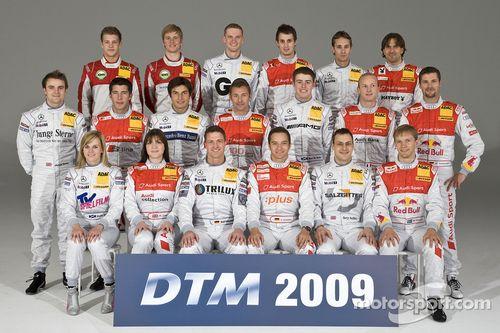 2009 DTM presentation, Dusseldorf, Germany
