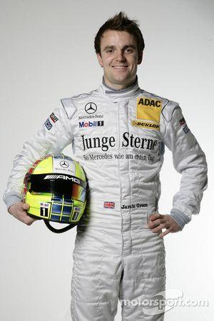 Jamie Green, Junge Sterne AMG Mercedes