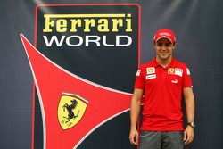 Felipe Massa, Scuderia Ferrari, Ferrari World
