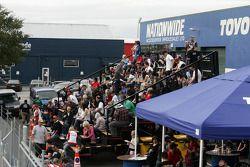 Fans du V8 Supercars néo-zélandais