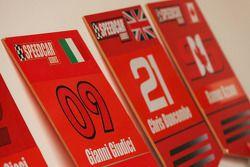 Panneaux de grille de Gianni Giudici et Chris Buncombe, Team Lavaggi