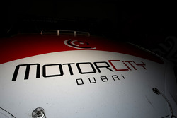 Logo du MotorCity de Dubaï
