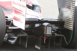 Toyota Racing, rear, diffuser, detay