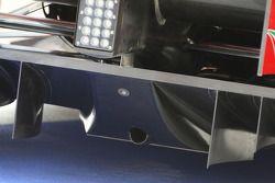 Scuderia Ferrari, rear, diffuser, detay