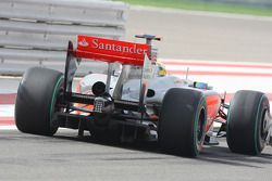 Lewis Hamilton, McLaren Mercedes, rear, diffuser, detail