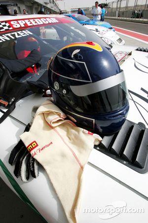 Le casque d'Heinz-Harald Frentzen, Team Lavaggi