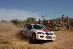 Stefano Marrini et Roberto Mometti, Mitsubishi Lancer Evo IX Errani Team