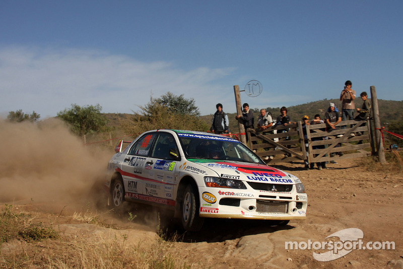 Stefano Marrini and Roberto Mometti, Mitsubishi Lancer Evo IX Errani Team