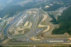 Aerial view of Twin Ring Motegi