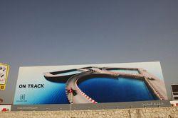 Bahrain GP advertising billboard