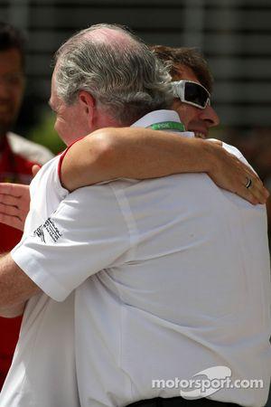 Timo Glock, Toyota F1 Team, John Howett