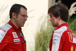 Stefano Domenicali, Scuderia Ferrari, Direktör, Rob Smedly, Scuderia Ferrari, Pist Mühendisi, Felipe