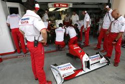 Тимо Глок, Toyota F1 Team