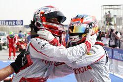 Pole: Kazanan Jarno Trulli, Toyota Racing ve Timo Glock, Toyota F1 Team