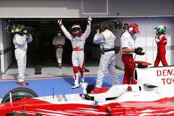 Pole: Kazanan Jarno Trulli, Toyota Racing