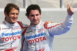 Pole: Kazanan Jarno Trulli, Toyota F1 Team ve 2. Timo Glock, Toyota F1 Team