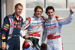 Pole: Kazanan Jarno Trulli, Toyota F1 Team ve 2. Timo Glock, Toyota F1 Team ve 3. Sebastian Vettel,