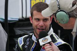 Ernesto Viso, HVM Racing gives an interview