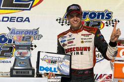 Victory lane : le vainqueur David Ragan