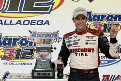 Victory lane: race winner David Ragan