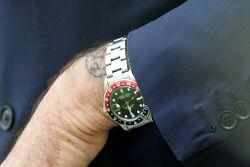 watch ve tatoo, Luca di Montezemolo, Scuderia Ferrari, FIAT Yönetim Kurulu Başkanı ve Başkanı, Ferra