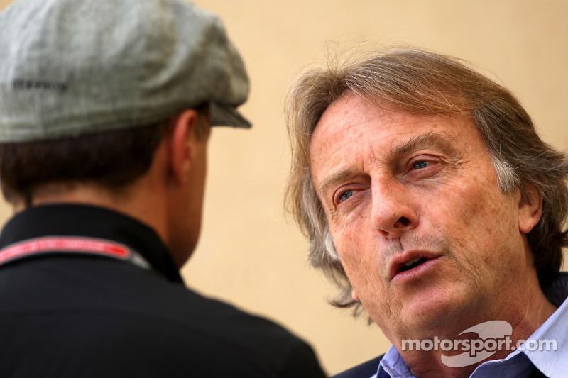 Jean Alesi, Luca di Montezemolo, Scuderia Ferrari, Presidente de FIAT y Presidente de Ferrari