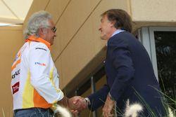Luca di Montezemolo, Scuderia Ferrari, FIAT Yönetim Kurulu Başkanı ve Başkanı, Ferrari ve Flavio Bri