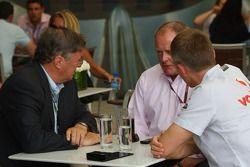Richard Lapthorne, yeni Fahri Yönetim Kurulu Başkanı, McLaren Group ve owner, F1 racing team, Alan D