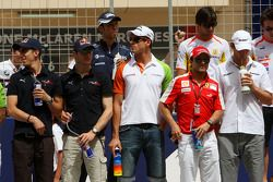 Sebastien Buemi, Scuderia Toro Rosso, Sebastien Bourdais, Scuderia Toro Rosso, Kazuki Nakajima, Will